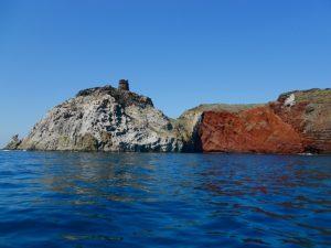Cala Rossa - Isola di Capraia